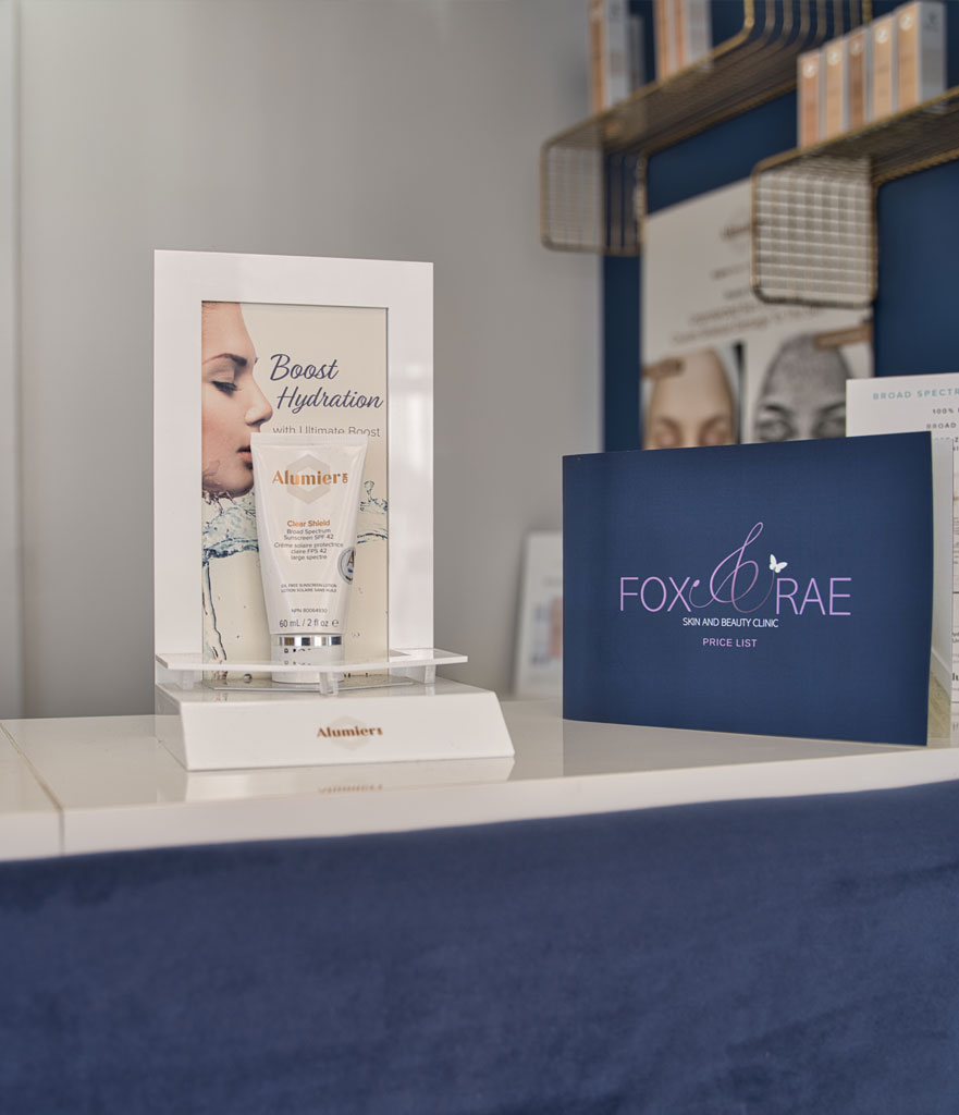 Fox and Rae Skin Clinic Beauty Treatments Facial Skincare Rustington West Sussex